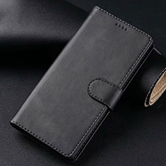 Leather Case Stands Flip Cover T02 Holder for Samsung Galaxy S20 Plus 5G Black