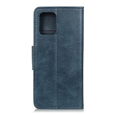 Leather Case Stands Flip Cover T03 Holder for Samsung Galaxy S20 Blue
