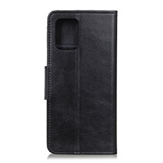 Leather Case Stands Flip Cover T04 Holder for Samsung Galaxy S20 Plus 5G Black
