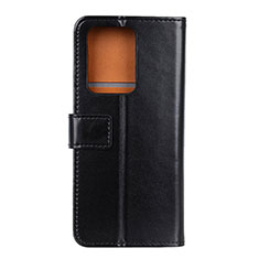Leather Case Stands Flip Cover T07 Holder for Huawei P40 Pro+ Plus Black