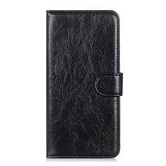 Leather Case Stands Flip Cover T08 Holder for Realme X50 Pro 5G Black