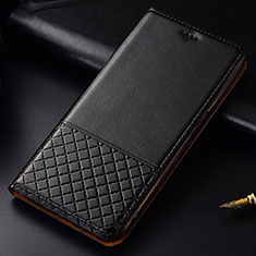 Leather Case Stands Flip Cover T09 Holder for Huawei P30 Black