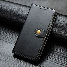 Leather Case Stands Flip Cover T10 Holder for Oppo Find X2 Lite Black