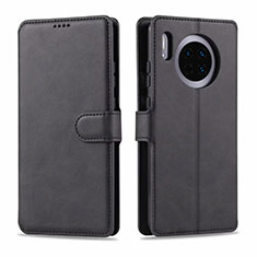 Leather Case Stands Flip Cover T11 Holder for Huawei Mate 30 Pro 5G Black