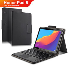 Leather Case Stands Flip Cover with Keyboard for Huawei Honor Pad 5 10.1 AGS2-W09HN AGS2-AL00HN Black