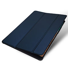 Leather Case Stands Flip Holder Cover for Xiaomi Mi Pad 4 Blue