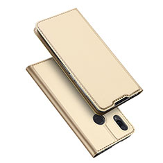 Leather Case Stands Flip Holder Cover for Xiaomi Redmi Note 7 Pro Gold