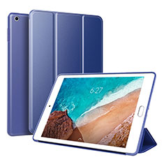 Leather Case Stands Flip Holder Cover L01 for Xiaomi Mi Pad 4 Blue