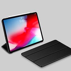 Leather Case Stands Flip Holder Cover L03 for Apple iPad Pro 11 (2018) Black