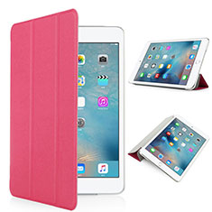 Leather Case Stands Flip Matte Finish Cover for Apple iPad Pro 9.7 Red