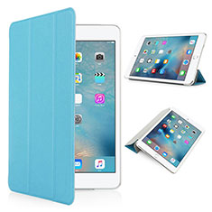 Leather Case Stands Flip Matte Finish Cover for Apple iPad Pro 9.7 Sky Blue