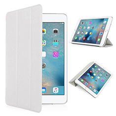 Leather Case Stands Flip Matte Finish Cover for Apple iPad Pro 9.7 White