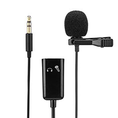 Luxury 3.5mm Mini Handheld Microphone Singing Recording K01 Black