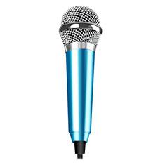 Luxury 3.5mm Mini Handheld Microphone Singing Recording M04 for Apple MacBook Pro 13 2020 Sky Blue