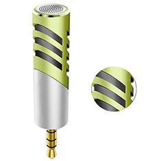 Luxury 3.5mm Mini Handheld Microphone Singing Recording M09 for Apple MacBook Pro 13 2020 Green