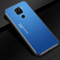 Luxury Aluminum Metal Cover Case C01 for Xiaomi Redmi Note 9 Blue