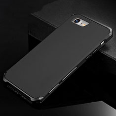 Luxury Aluminum Metal Cover Case for Apple iPhone SE (2020) Black