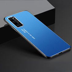 Luxury Aluminum Metal Cover Case for Huawei Honor 30 Pro Blue