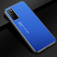 Luxury Aluminum Metal Cover Case for Huawei Honor Play4 5G Blue