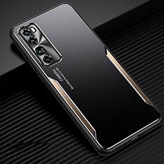 Luxury Aluminum Metal Cover Case for Huawei Nova 7 Pro 5G Gold