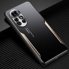 Luxury Aluminum Metal Cover Case for Huawei Nova 8 5G Gold