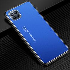 Luxury Aluminum Metal Cover Case for Huawei Nova 8 SE 5G Blue
