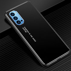 Luxury Aluminum Metal Cover Case for Oppo Reno4 5G Black