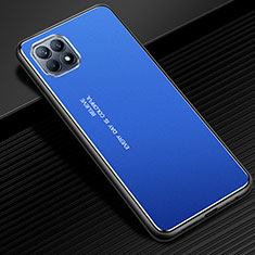 Luxury Aluminum Metal Cover Case for Oppo Reno4 SE 5G Blue