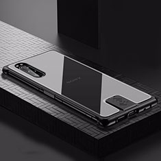 Luxury Aluminum Metal Cover Case for Sony Xperia 5 Black