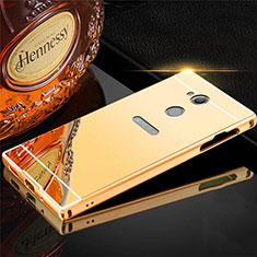 Luxury Aluminum Metal Cover Case for Sony Xperia XA2 Plus Gold