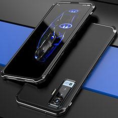 Luxury Aluminum Metal Cover Case for Vivo X50 5G Black