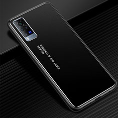Luxury Aluminum Metal Cover Case for Vivo X60 Pro 5G Black