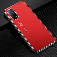 Luxury Aluminum Metal Cover Case for Xiaomi Mi 10T Pro 5G Red