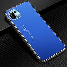 Luxury Aluminum Metal Cover Case for Xiaomi Mi 11 5G Blue