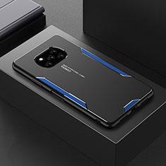 Luxury Aluminum Metal Cover Case for Xiaomi Poco X3 NFC Blue