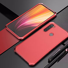Luxury Aluminum Metal Cover Case for Xiaomi Redmi Note 8 Red
