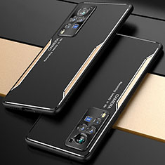 Luxury Aluminum Metal Cover Case M01 for Vivo X60 Pro 5G Gold