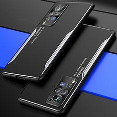 Luxury Aluminum Metal Cover Case M01 for Vivo X60 Pro 5G Silver
