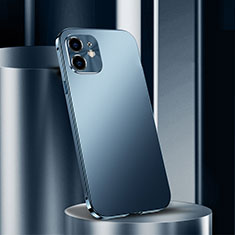 Luxury Aluminum Metal Cover Case N01 for Apple iPhone 12 Mini Blue