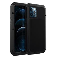Luxury Aluminum Metal Cover Case N01 for Apple iPhone 12 Pro Max Black
