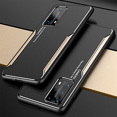 Luxury Aluminum Metal Cover Case T01 for Huawei P40 Pro+ Plus Gold