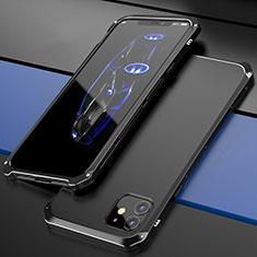 Luxury Aluminum Metal Cover Case T02 for Apple iPhone 12 Mini Black