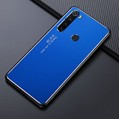 Luxury Aluminum Metal Cover Case T02 for Xiaomi Redmi Note 8 Blue