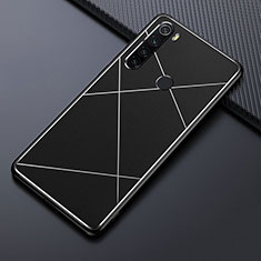 Luxury Aluminum Metal Cover Case T03 for Xiaomi Redmi Note 8 Black
