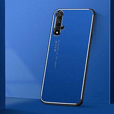 Luxury Aluminum Metal Cover Case T04 for Huawei Nova 5T Blue