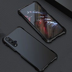 Luxury Aluminum Metal Cover Case T05 for Huawei Nova 5T Black