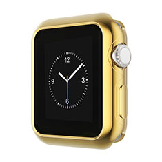 Luxury Aluminum Metal Frame Case A01 for Apple iWatch 3 42mm Gold