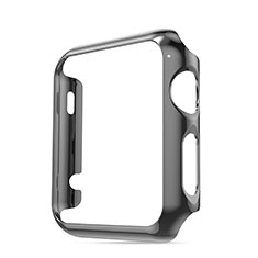 Luxury Aluminum Metal Frame Case for Apple iWatch 3 42mm Gray