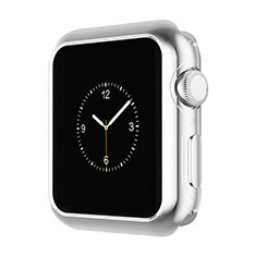 Luxury Aluminum Metal Frame Cover A01 for Apple iWatch 3 42mm Silver