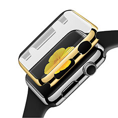 Luxury Aluminum Metal Frame Cover C02 for Apple iWatch 3 42mm Gold